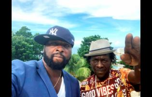 New York-based producer Bobby Johnson and reggae artiste Ragga.