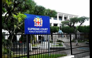 The Supreme Court in Kingston.